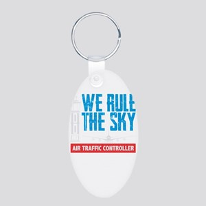 Air Traffic Controller We Rule The Sky Keychains