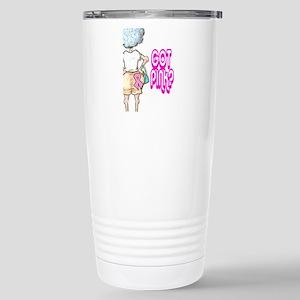 GOT PINK? BREAST CANCER Stainless Steel Travel Mug
