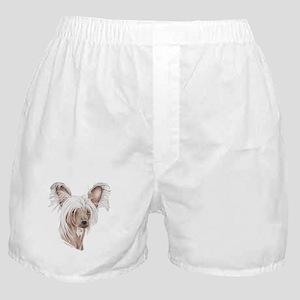 Chinese crested dog Boxer Shorts