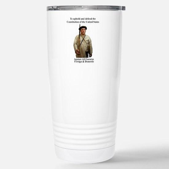 Patriot Stainless Steel Travel Mug