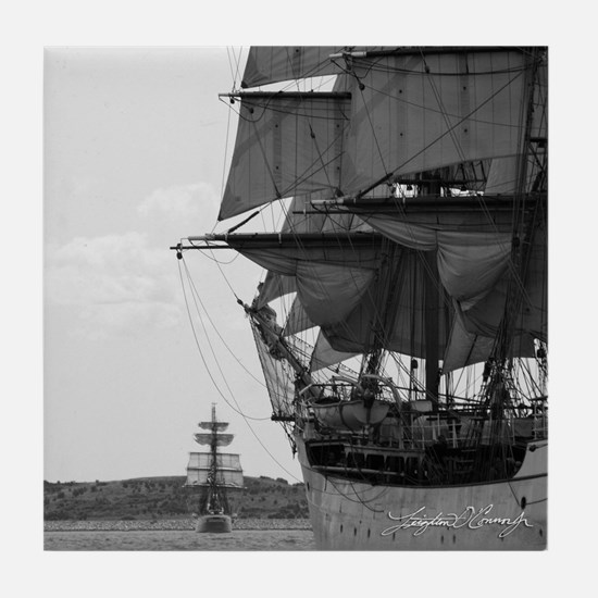 Tall Ship Ceramic Tile