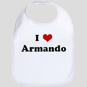 I Love Armando Bib