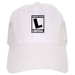 Content Rated Liberal Cap
