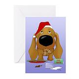 Christmas cookies peace love christmas cookies Greeting Cards (20 Pack)