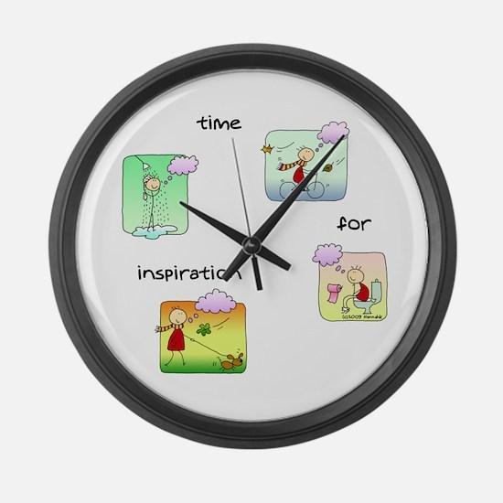 Cute Nano day Large Wall Clock