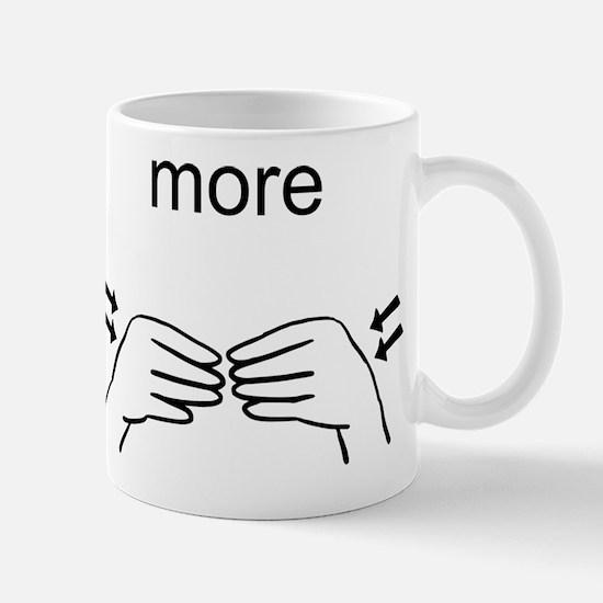 Sign Language More Mug