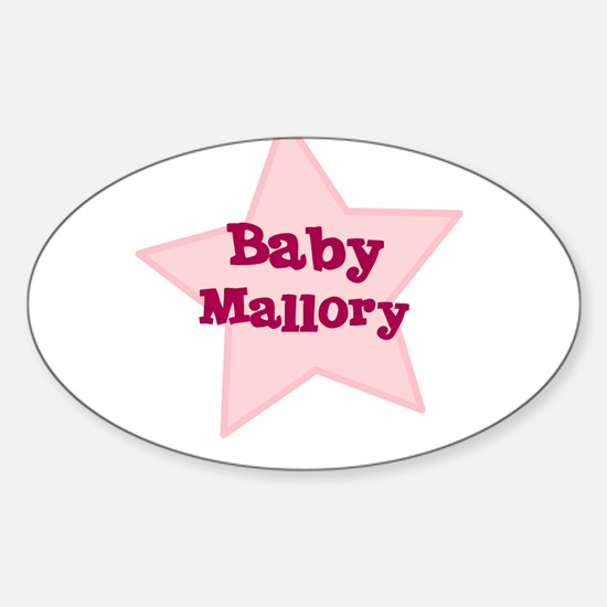 Baby Mallory Oval Decal