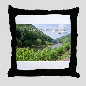 Psalm 115:15 Throw Pillow