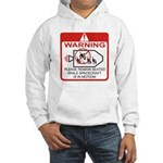 Warning / Spacecraft Hooded Sweatshirt