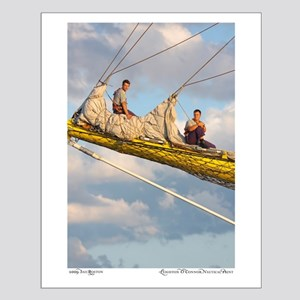 Tall Ship Small Poster
