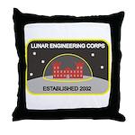 Lunar Engineering Throw Pillow