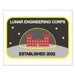 Lunar Engineering Small Poster