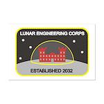 Lunar Engineering Mini Poster Print