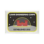 Lunar Engineering Rectangle Magnet (10 pack)