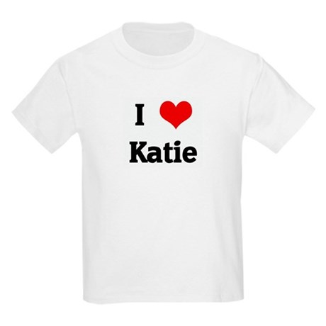 I Love Katie Kids Light T-Shirt
