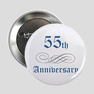 "Elegant 55th Anniversary 2.25"" Button"