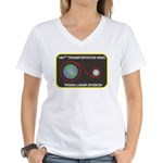 Trans-Lunar Women's V-Neck T-Shirt