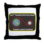 Trans-Lunar Throw Pillow