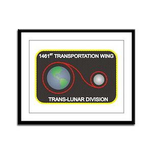Trans-Lunar Framed Panel Print