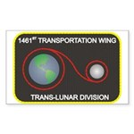 Trans-Lunar Rectangle Sticker