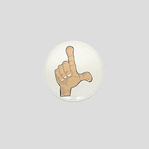Hand - Loser Fingers Mini Button