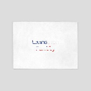 Livingston Family 5'x7'Area Rug