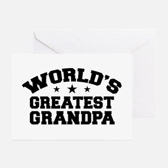 World's Greatest Grandpa Greeting Cards (Pk of 10)