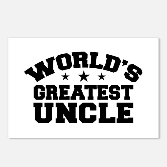 World's Greatest Uncle Postcards (Package of 8)