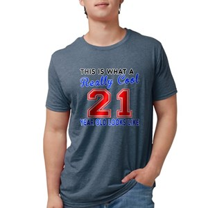 21st Birthday Mens Tri Blend T Shirts