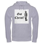 Got Christ? Ash Grey Hooded Sweatshirt
