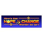Hope & Change Bumper Sticker (50 pk)
