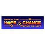 Hope & Change Bumper Sticker (10 pk)