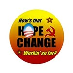 """Hope & Change 3.5"""" Button"""