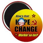 """Hope & Change 2.25"""" Magnet (10 pack)"""