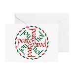 Joy & Peace Greeting Cards (Pk of 10)