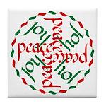 Joy & Peace Tile Coaster
