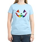 Smiley Halloween Rainbow Women's Light T-Shirt