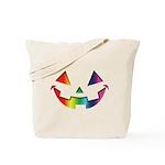 Smiley Halloween Rainbow Tote Bag