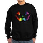 Smiley Halloween Rainbow Sweatshirt (dark)