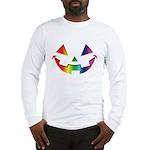 Smiley Halloween Rainbow Long Sleeve T-Shirt