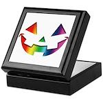 Smiley Halloween Rainbow Keepsake Box