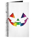Smiley Halloween Rainbow Journal