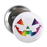 "Smiley Halloween Rainbow 2.25"" Button (10 pac"