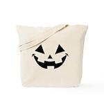 Smiley Halloween Black Tote Bag
