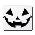 Smiley Halloween Black Mousepad