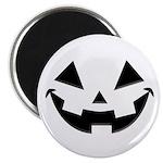 Smiley Halloween Black Magnet