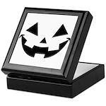 Smiley Halloween Black Keepsake Box
