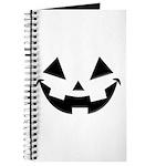 Smiley Halloween Black Journal