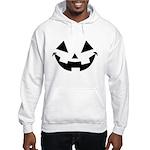 Smiley Halloween Black Hooded Sweatshirt