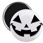 "Smiley Halloween Black 2.25"" Magnet (10 pack)"